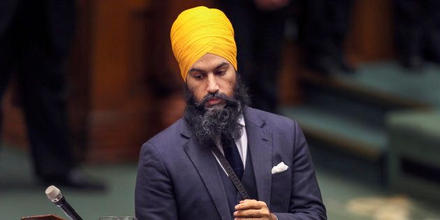 NDP leadership candidate Jagmeet Singh shared a personal story on Twitter to mark Multiculturalism