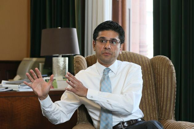 Minister of Community Safety and Correctional Services Yasir Naqvi, June 2,