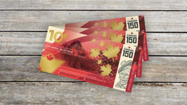 Canadian Tire's limited edition 10-cent bill to celebrate Canada 150 available in stores nation-wide...