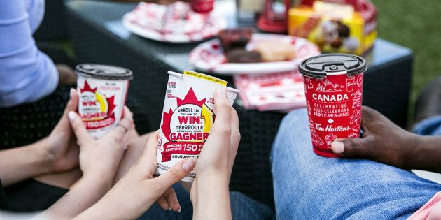 Tim Hortons Brings Back 'Roll Up The Rim' To Prove We've Reached Peak