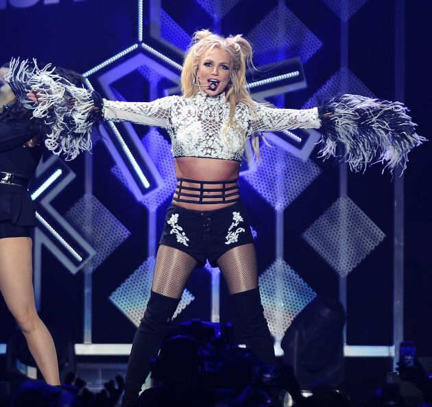 Britney Spears performs at 102.7 KIIS FM's Jingle Ball 2016 in Los Angeles,