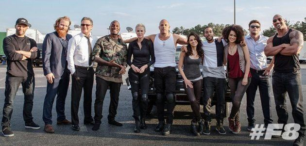 """The cast of """"The Fate of Furious."""""""
