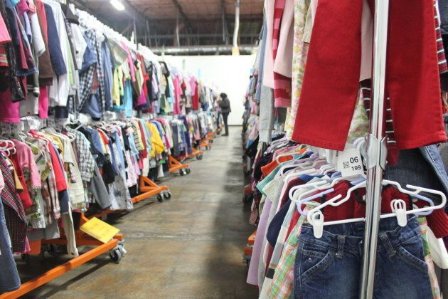 Consignment clothing at a ThredUp