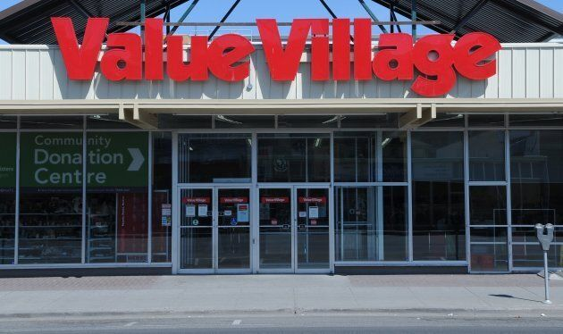 A Value Village thrift second hand store in downtown Kamloops, British Columbia. ThredUp will face stiff...