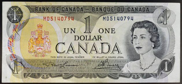 Remember these? The loonie replaced the dollar bill back in the 1980s. (Photo by DeAgostini/Getty