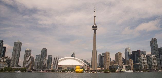 The giant rubber duck will be in Toronto for the Canada Day long weekend. (Rick Madonik/Toronto Star...