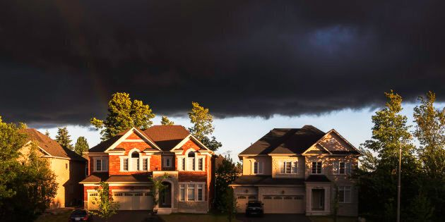 New houses in Ontario, July 1,