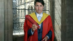Trudeau Gets Honorary Degree, Shows Off Scottish