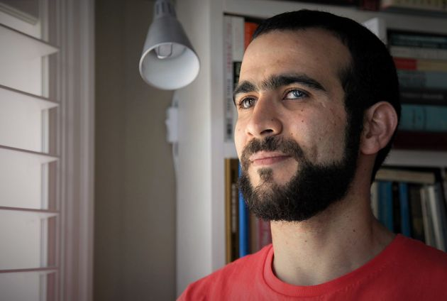 Former Guantanamo Bay prisoner Omar Khadr, 30, is seen at a home in Mississauga, Ont., on Thursday, July...