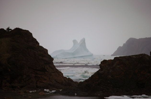 An iceberg is seen off Twillingate, N.L., on Monday, June 5,