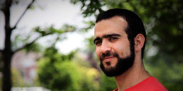 Former Guantanamo Bay prisoner Omar Khadr, 30, is seen in Mississauga, Ont., on July 6,