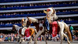 Calgary Stampede Kicks Off With First Nations Chiefs As Parade