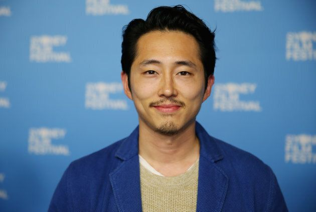 Steven Yeun  arrives ahead of the Sydney Film Festival Closing Night Gala and Australian premiere of Okja at State Theatre on June 18, 2017 in Sydney, Australia.  (Photo by Don Arnold/WireImage)