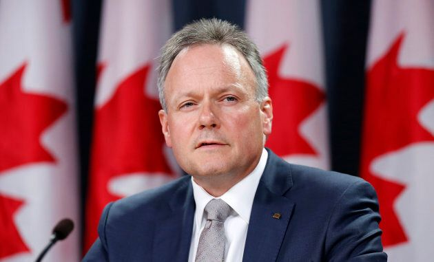 Bank of Canada Governor Stephen Poloz speaks during a news conference in Ottawa, July 17, 2013.