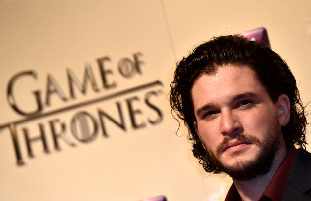 Actor Kit Harrington, who plays Jon Snow on