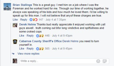 Derek Helms, Accused North Carolina Rapist, Comments On Facebook Post Seeking His
