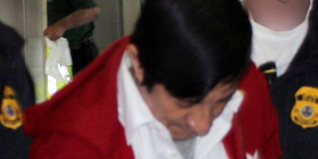 This Sept. 21, 2012 photo provided by U.S. Immigration and Customs Enforcement (ICE) shows Jorge Sosa,...
