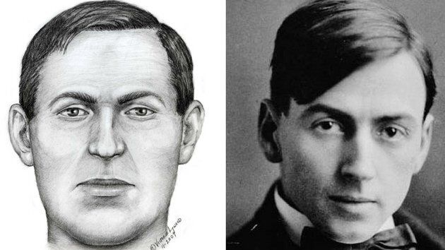 Victoria Lywood sketched the drawing on the left based on the skull found in Thomson's first grave. It looks very similar to Thomson himself.