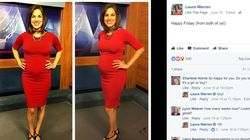 News Anchor Called 'Disgusting' For Being Pregnant On