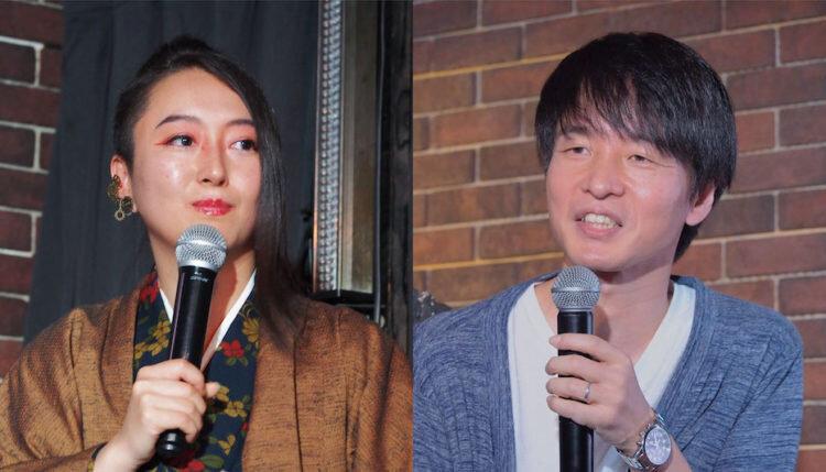 牧村朝子さん(左)谷口洋幸さん(右)