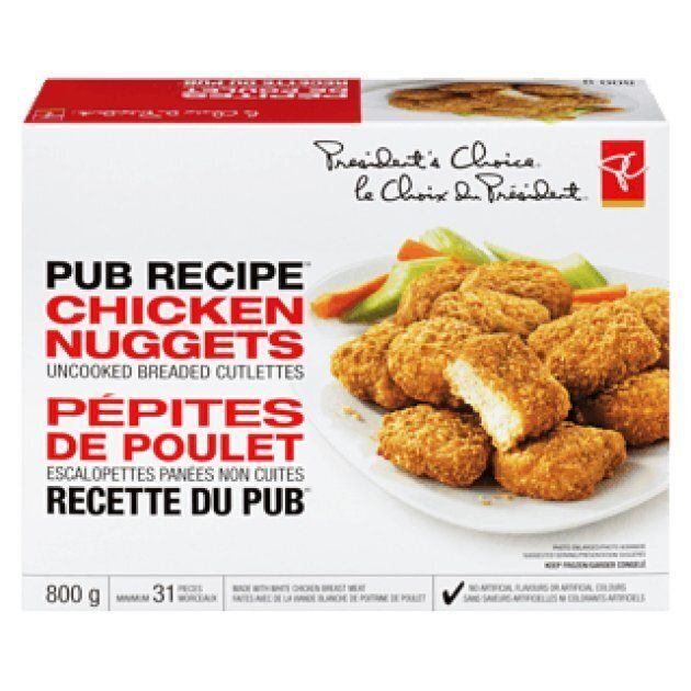 Loblaw is recalling President's Choice pub recipe chicken nuggets out of