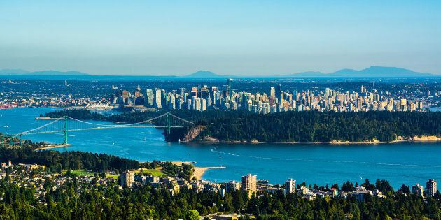 An aerial view of Vancouver. The city has fallen behind Toronto and Montreal in Chinese foreign buyer interest.
