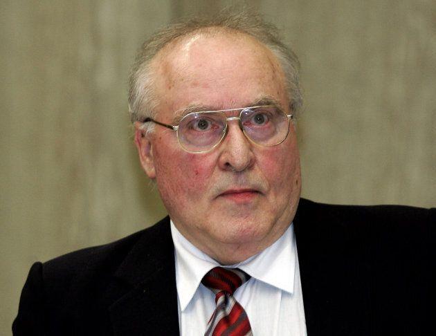 Barbara Kulaszka defended German Holocaust denier Ernst Zundel, pictured here, in the