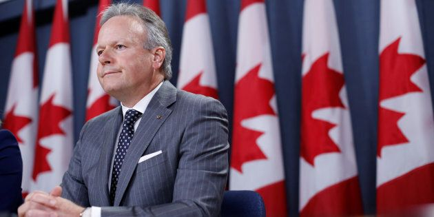 Bank of Canada Governor Stephen Poloz takes part in a news conference in Ottawa, Ontario, Canada, July...