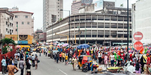 Lagos Island's commercial