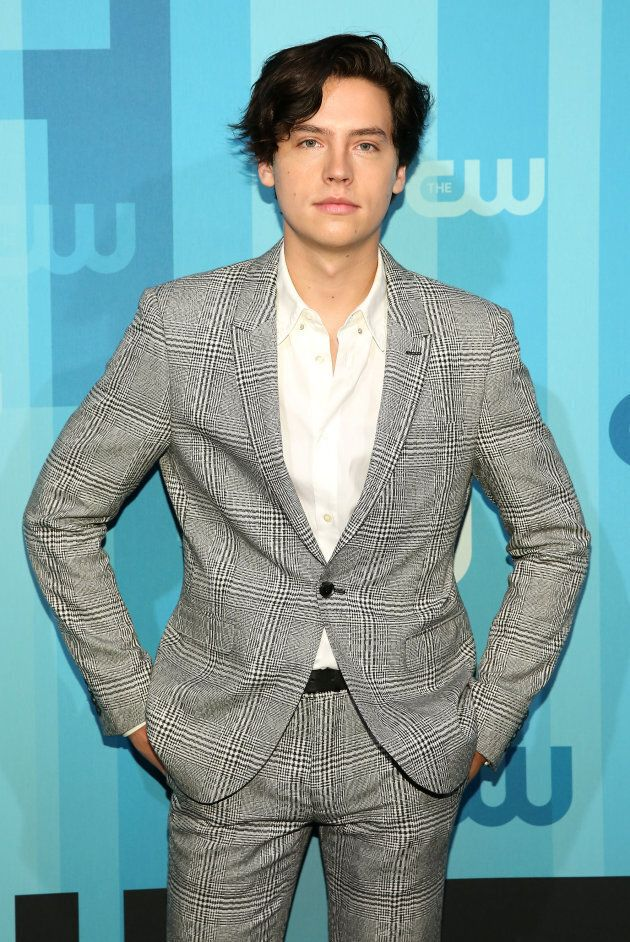 Actor Cole Sprouse attends the 2017 CW Upfront on May 18, 2017 in New York