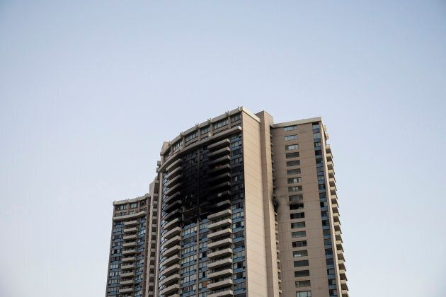 The Marco Polo building did not have a sprinkler system. A fire spread and killed three people in the...