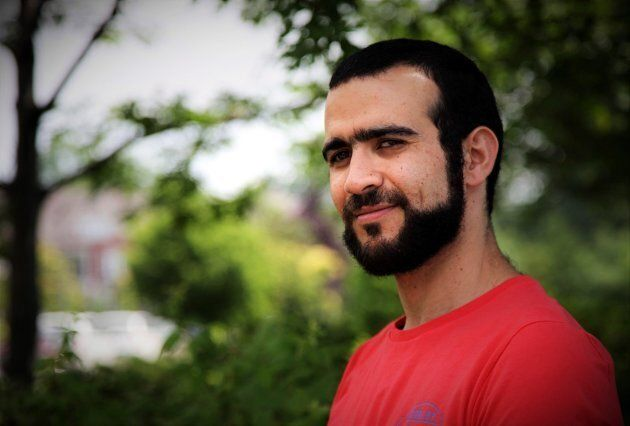 Former Guantanamo Bay prisoner Omar Khadr, 30, is seen in Mississauga, Ont., on July 6,