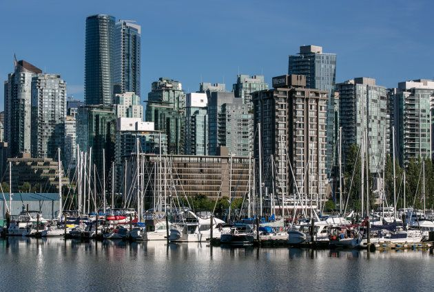 """Vancouver's Coal Harbour, seen from Stanley Park, June 30. The city's housing recovery appears to be """"petering out,"""" TD Bank says."""