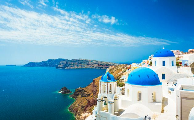 Church in Oia (Santorini,
