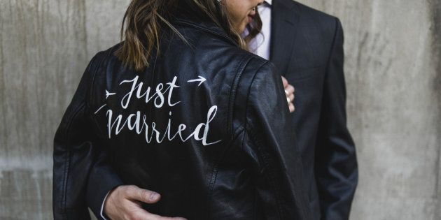 This 'Just Married' Jacket Has Created A Sisterhood Of Badass