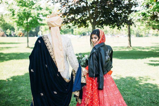 Rima Khullar and her husband Tushar.