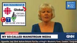 Watch: Tory MP's 'Newscast' Dumps On 'Fake' Khadr