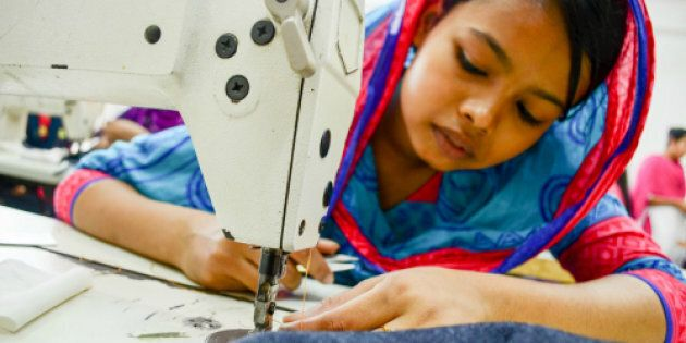 Bithi and many teenagers like her work long hours for little pay in Bangladesh's clothing