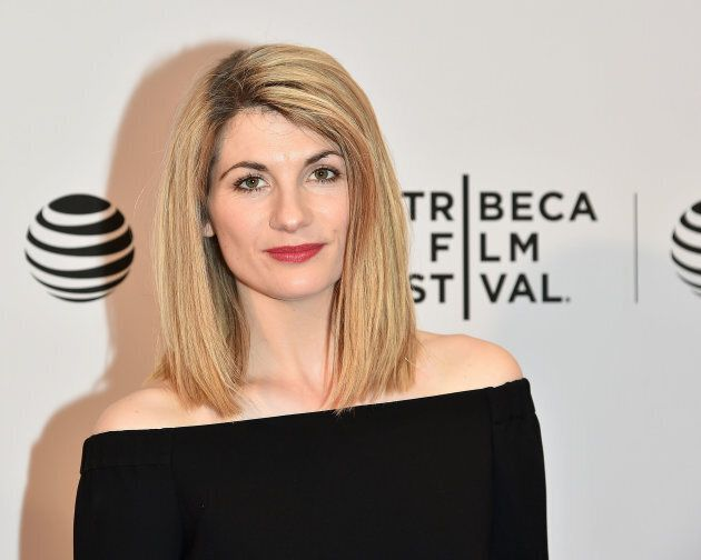 Actress Jodie Whittaker attends the 'Adult Life Skills' Premiere during the 2016 Tribeca Film Festival...