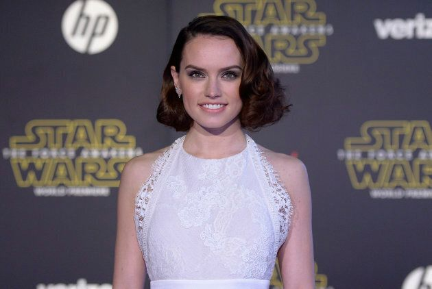 Actress Daisy Ridley arrives at the premiere of
