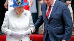 British Tabloids Fuss About Governor General Helping Queen Down