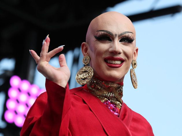 Sasha Velour performs at the 2017 Capital Pride Concert on June 11, 2017 in Washington, DC.