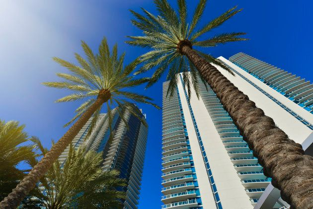 Condo towers in Sunny Isles Beach, Florida. The state is the top destination for Canadians buying property in the U.S.