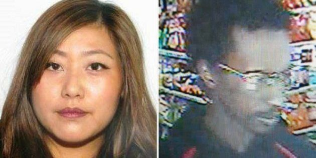 Calgary police released photos of person of interest Yu Chieh Liao, and an unidentified man she may be...