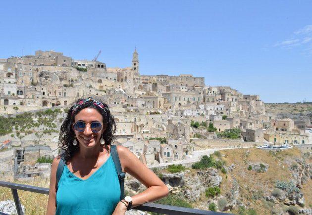 Emanuela Orsini was visiting family in