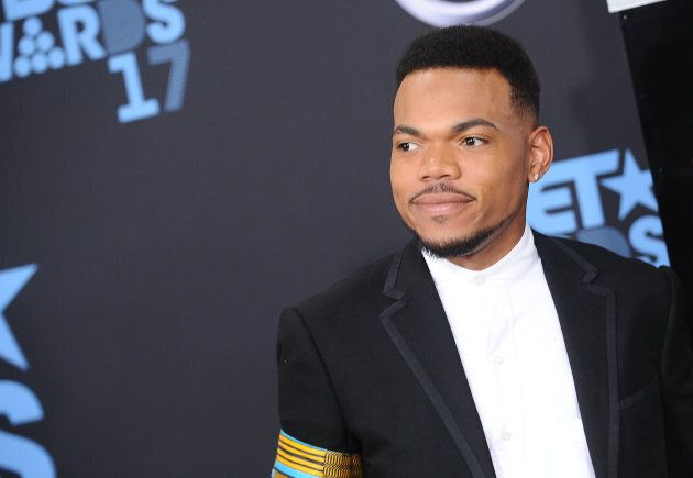 Chance The Rapper attends the 2017 BET Awards at Los Angeles' Microsoft Theater on June 25, 2017.