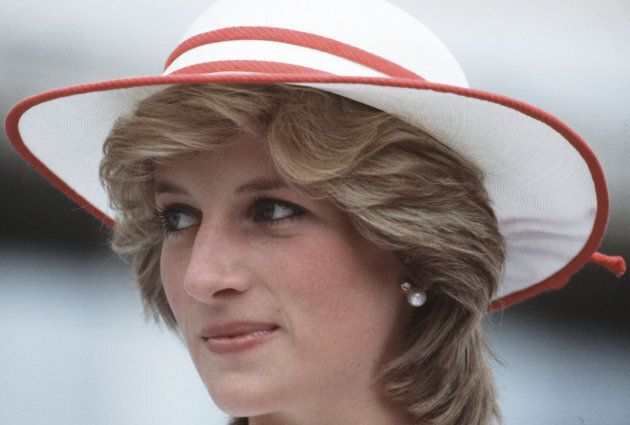 Princess Diana tours Toronto in