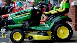 Guy Riding Lawn Mower Headed For Smokes Charged With Impaired