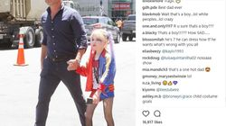 Liev Schreiber's Son Dressed As Harley Quinn, And the Internet Inevitably