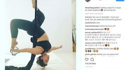 Ashley Graham Nails Aerial Yoga, Proves She's Our Ultimate